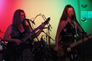 The Daisy Stranglers at the Smokehouse, Aug. 29. Photo by Richard Amery