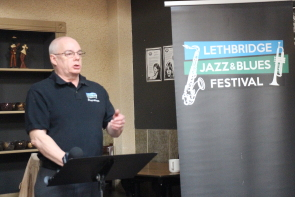 Don Robb is excited about the Lethbridge Jazz and Blues Festival this year. Photo by Richard Amery