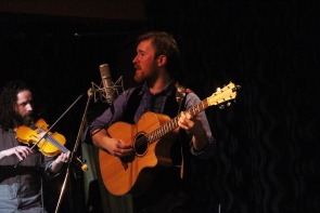 The Ewan MacIntyre band visited lethbridge with pop and folk music. photo by Richard Amery