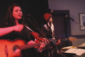 Jenn and Paul Kype playing Casino Lethbridge, Dec. 9. Photo by Richard Amery