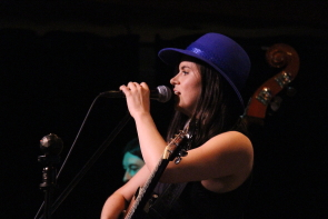 A farewell show for Megan Brown is at the Slice, Aug. 17. Photo by Richard Amery