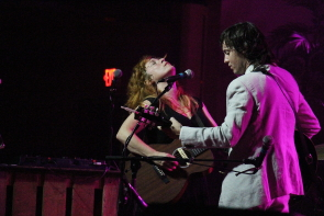 Shovels and Rope perform at Southminster united Church for Wide Skies Music Festival. photo by Richard Amery
